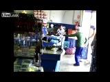 Ограбление супермаркета в Бразилии